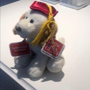 Gund singing graduation dog